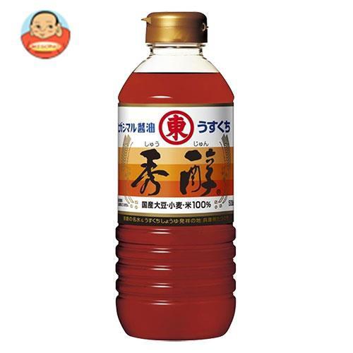 送料無料 【2ケースセット】ヒガシマル醤油 秀醇 500mlペットボトル×12本入×(2ケース)