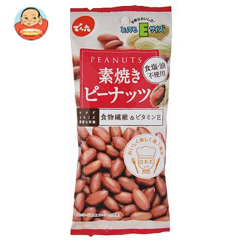 送料無料 【2ケースセット】でん六 Eサイズ素焼きピーナッツ 50g×10袋入×(2ケース)