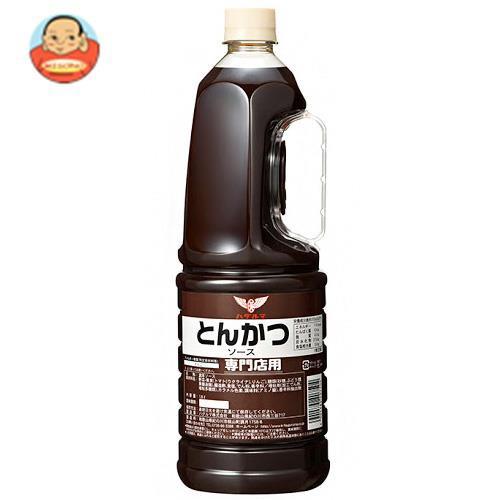 送料無料 ハグルマ 専門店用 とんかつソース 1.8Lペットボトル×6本入
