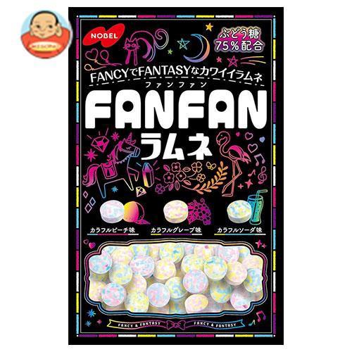 送料無料 ノーベル製菓 FANFAN(ファンファン)ラムネ 40g×6袋入