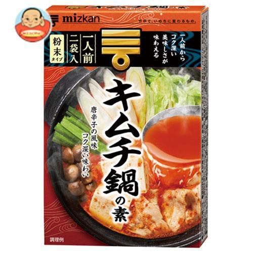 送料無料 ミツカン キムチ鍋の素 38g×10箱入