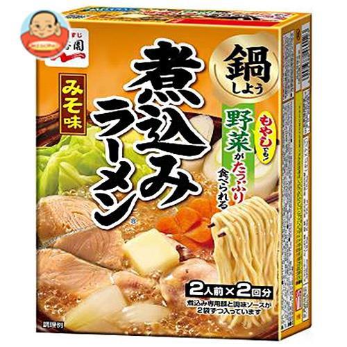 送料無料 永谷園 煮込みラーメン みそ味 308g×6箱入