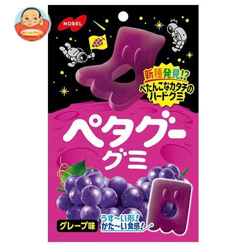 送料無料 【2ケースセット】ノーベル製菓 ペタグーグミ グレープ 50g×6袋入×(2ケース)