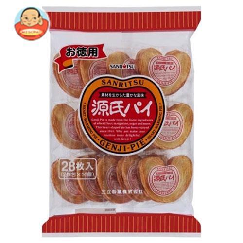 送料無料 三立製菓 お徳用 源氏パイ 28枚(2×14)×10袋入