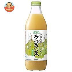 送料無料 【2ケースセット】マルカイ 順造選 ラ・フランス 1000ml瓶×6本入×(2ケース)