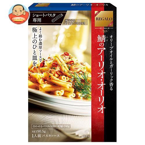 送料無料 【2ケースセット】日本製粉 レガーロ 鯖のアーリオ・オーリオ 90.5g×6箱入×(2ケース)