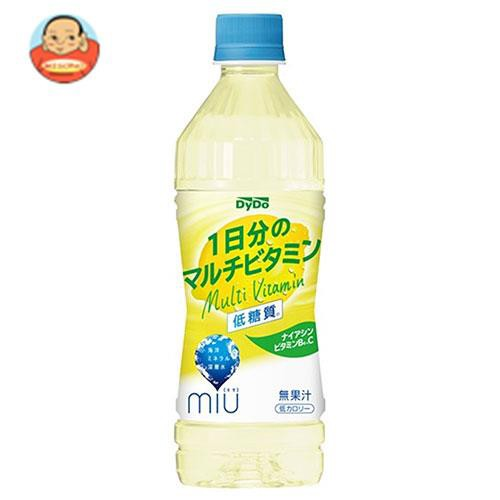 送料無料 ダイドー miu ミウ 1日分のマルチビタミン 500mlペットボトル×24本入