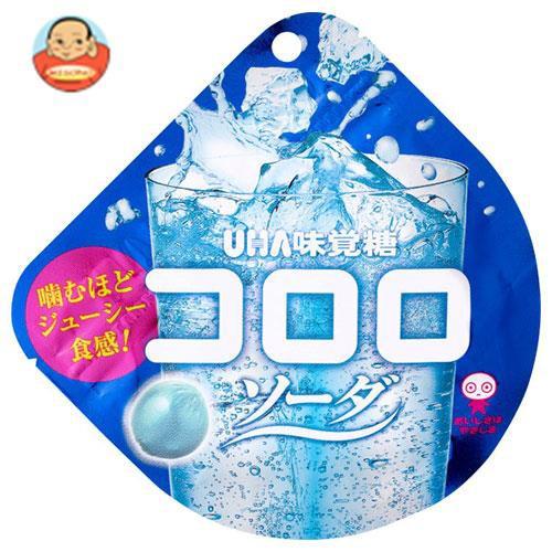 送料無料 UHA味覚糖 コロロ ソーダ 40g×6袋入