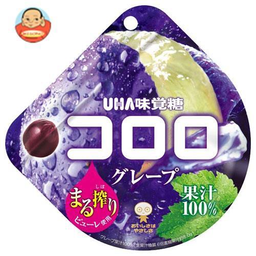 送料無料 UHA味覚糖 コロロ グレープ 48g×6袋入