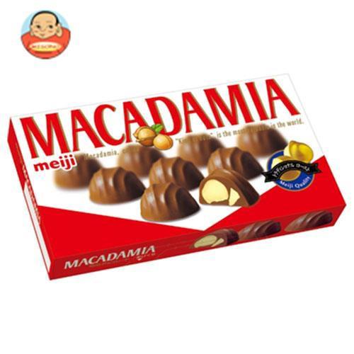 送料無料 明治 マカダミアチョコレート 9粒×10箱入