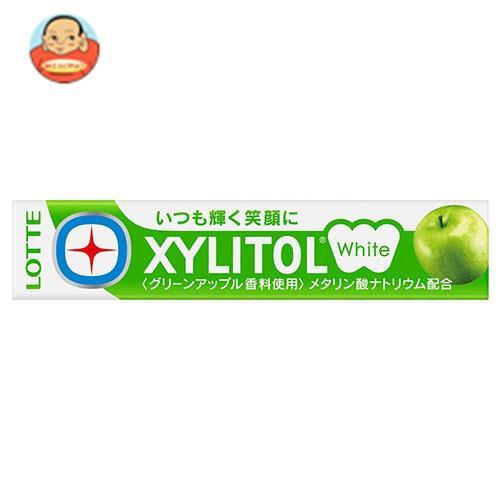 送料無料 ロッテ キシリトールホワイト グリーンアップル 14粒×20個入