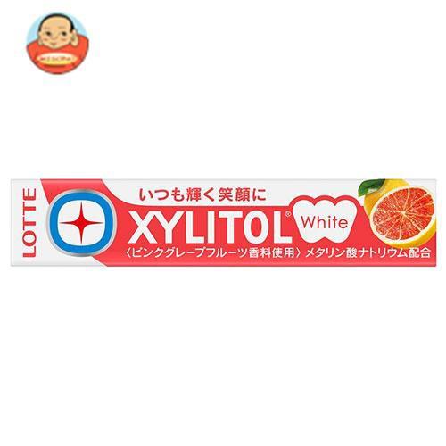 送料無料 ロッテ キシリトールホワイト ピンクグレープフルーツ 14粒×20個入