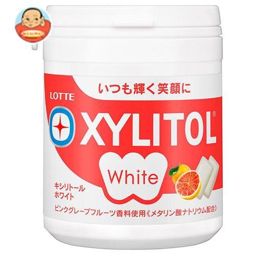 送料無料 ロッテ キシリトールホワイト ピンクグレープフルーツ ファミリーボトル 143g×6個入