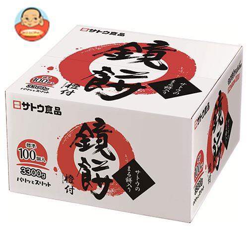 送料無料 サトウ食品 サトウの鏡餅 まる餅入り 3300g×1個入