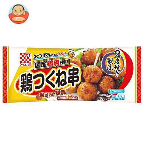 送料無料 【冷凍商品】ケイエス冷凍食品 国産鶏 鶏つくね串(照焼) 6本×12袋入