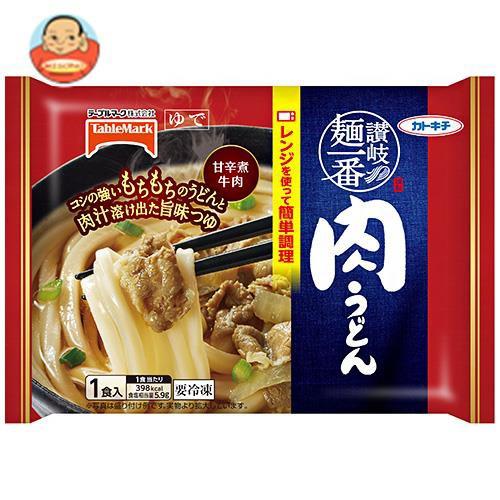 送料無料 【冷凍商品】テーブルマーク 讃岐麺一番 肉うどん 1食×12袋入