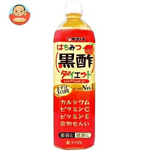 送料無料 タマノイ はちみつ黒酢ダイエット 900mlペットボトル×12本入