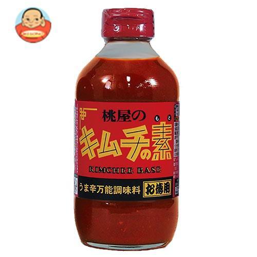 送料無料 桃屋 キムチの素 お徳用 450g瓶×6本入