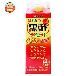 送料無料 タマノイ はちみつ黒酢ダイエット 濃縮タイプ 500ml紙パック×12本入