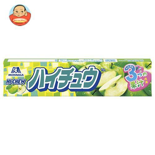 送料無料 【2ケースセット】森永製菓 ハイチュウ グリーンアップル 12粒×12個入×(2ケース)