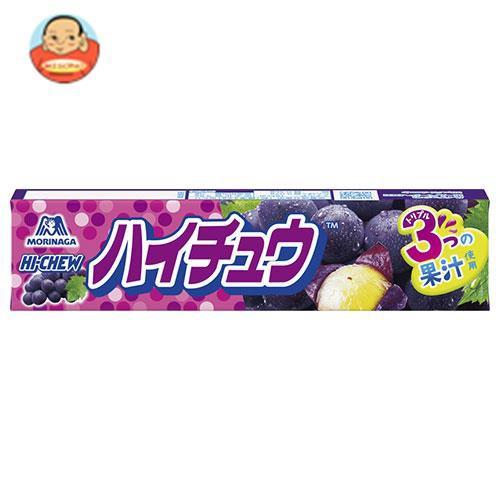 送料無料 【2ケースセット】森永製菓 ハイチュウ グレープ 12粒×12個入×(2ケース)