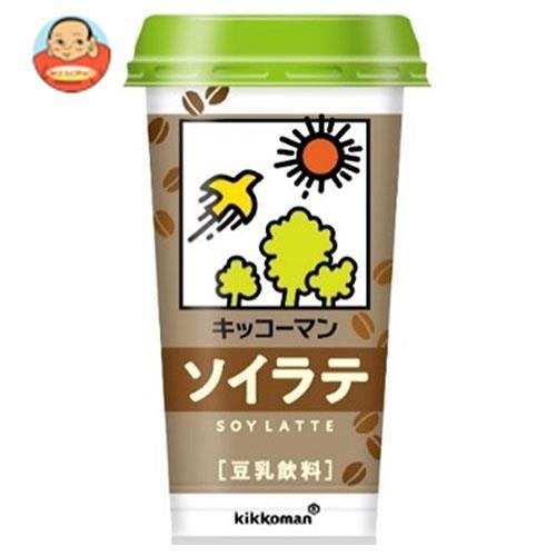 送料無料 【2ケースセット】キッコーマン 豆乳飲料 ソイラテ 200ml×12本入×(2ケース