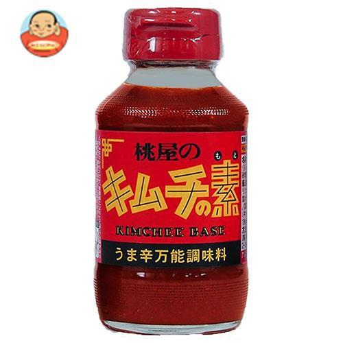 送料無料 桃屋 キムチの素 190g瓶×12本入