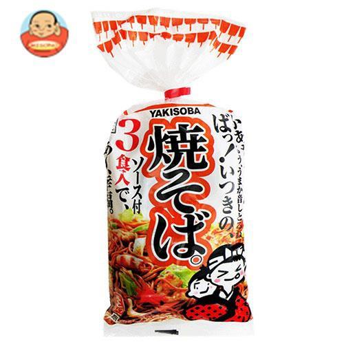 送料無料 【2ケースセット】五木食品 3食入焼そば 510g×12袋入×(2ケース)
