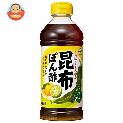 送料無料 【2ケースセット】ヤマサ醤油 昆布ぽん酢 500mlペットボトル×12本入×(2ケース)