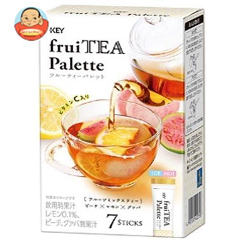 送料無料 【2ケースセット】KEY COFFEE(キーコーヒー) フルーティ−パレット フルーツミックスティー (12g×7P)×4箱入×(2ケース)