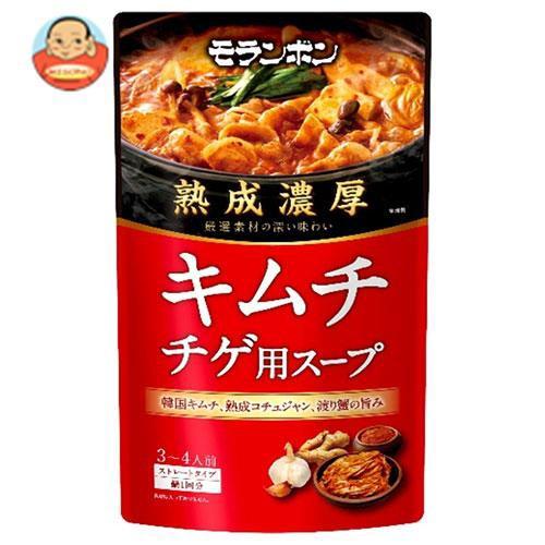 送料無料 モランボン 熟成濃厚 キムチチゲ用スープ 750g×10袋入