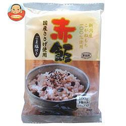 送料無料 【2ケースセット】たかの 赤飯 ごま塩(1.5g)付き 190g×10個入×(2ケース)