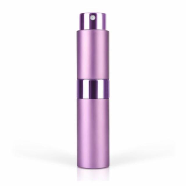 BLUSH ブラッシュ アトマイザー 【バイオレット】 香水ボトルから直接入れ替えできるツイストアップ・キャップレス 香水アトマイザー
