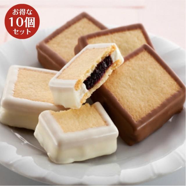 ハスカップジュエリーMIX 6個入×10箱セット もりもと 北海道 お菓子 スイーツ 人気 ミックスジャム バタークリーム チョコレート クッ