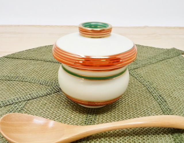 有田焼 蒸し茶碗 ひょうたん 7個セット【和食器 茶碗蒸し 蓋付き フタ付き 華山窯 業務用】