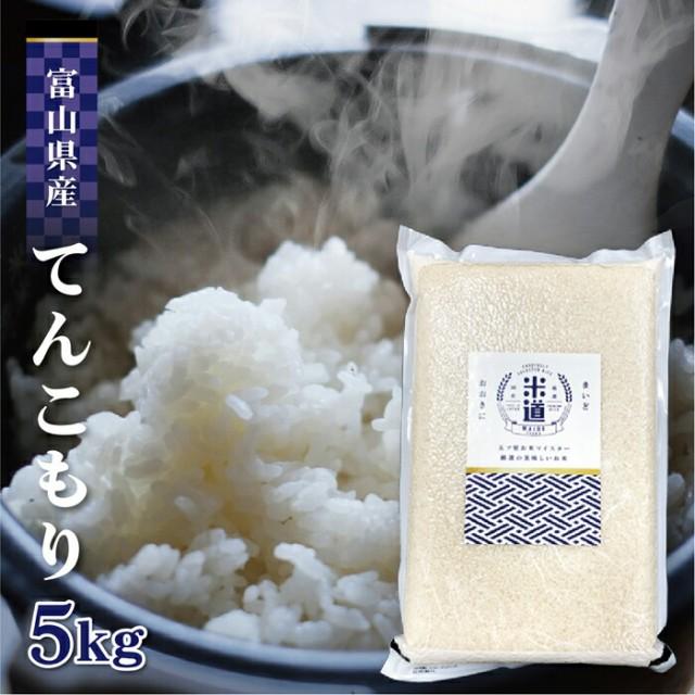 米 5kg 送料無料 5キロ てんこもり 富山県産 5キロ お米 無洗米 令和二年産 玄米 白米 ごはん 慣行栽培米 一等米 単一原料米 分付き米対