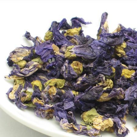 【マローブルー 10g】ハーブティー シングル 青い 綺麗 夜明けのハーブティー 喉 ケア 健康 お茶 紅茶 注文梱包