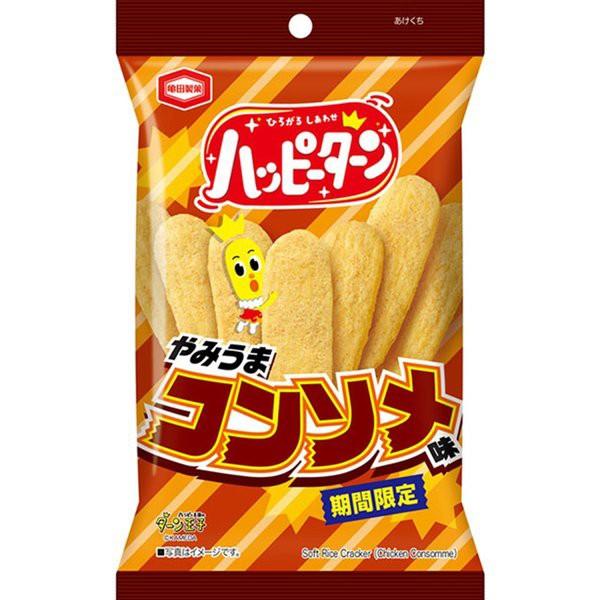 亀田製菓 ハッピーターン やみうまコンソメ味 1箱(10袋)