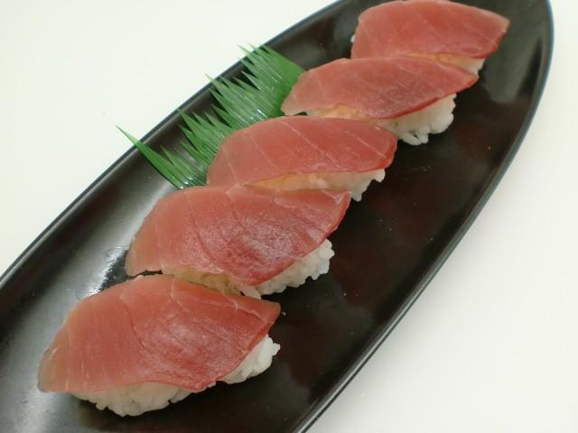 寿司ネタ バチマグロスライス 8g×10枚 すしねた 生食用 鉢まぐろ のせるだけ