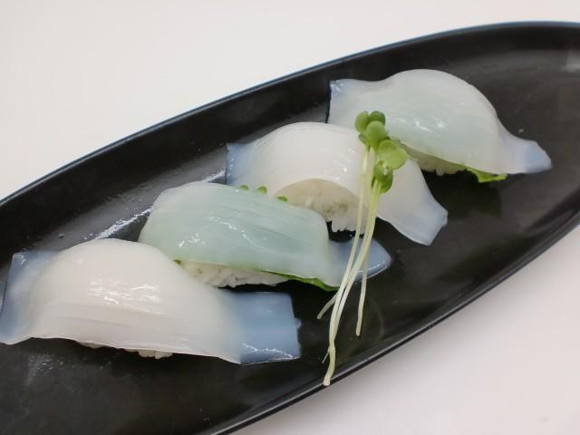 寿司ネタ ヤリイカスライス 10g×20枚 やりいか 業務用 すしねた 生食用 のせるだけ 刺身用
