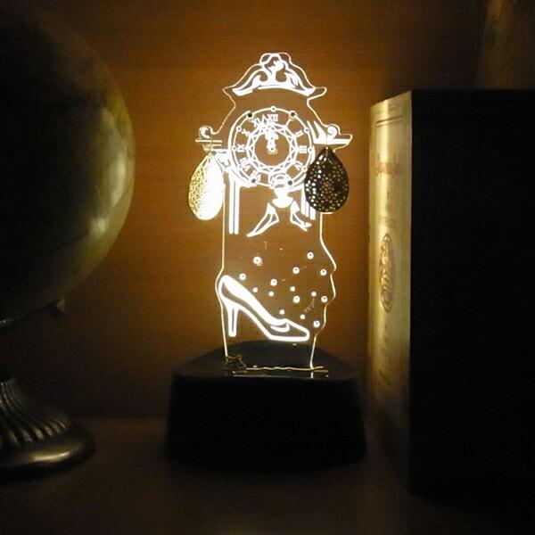 acrysta アクリスタ LEDアクセサリースタンド シンデレラ フェアリーテイルズ Fairy Tales 間接照明 ギフト プレゼント ハロウィン クリ