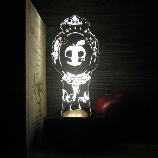 acrysta アクリスタ LEDアクセサリースタンド 白雪姫 フェアリーテイルズ Fairy Tales 間接照明 ギフト プレゼント ハロウィン クリスマ