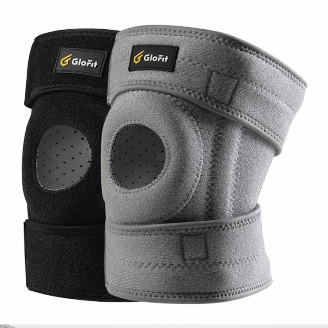GLOFIT オスグッド サポーター 半月板損傷 サポーター 膝用サポーター スポーツ 固定 関節 靭帯 保護 ランニング、クライミング、ライデ