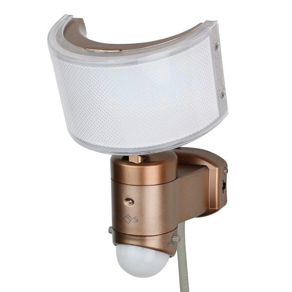 大進:広角ACセンサーライト 電球色 DLA-1T600L