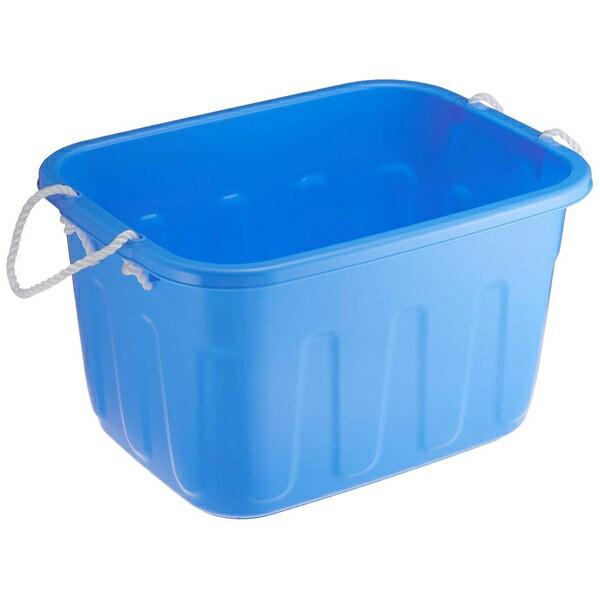 サンコープラスチック:キングタブ 角型 36L ブルー 505551