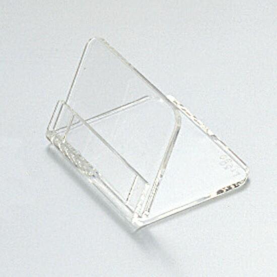 共栄プラスチック:メタクリル L型豆カード立て L-50-5 5個 007306052