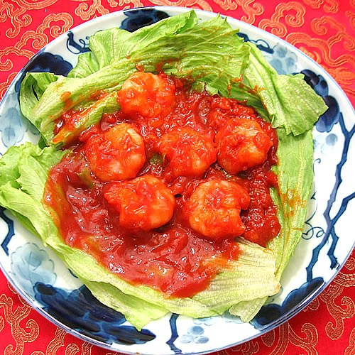 海老のチリソース(120g)中華 惣菜 中華料理 冷凍食品 レトルト お取り寄せグルメ 食品 えびちり エビチリ 冷凍真空パック 調理は湯煎で
