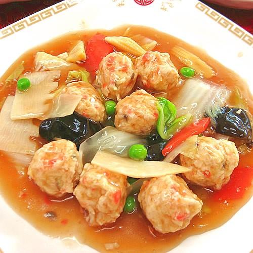 鶏つくねの旨煮あんかけ(200g)中華 惣菜 中華料理 冷凍食品 レトルト お取り寄せグルメ 食品 冷凍真空パック 調理は湯煎で10分