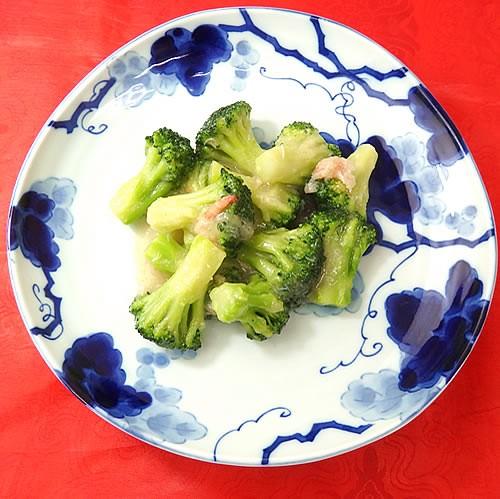ブロッコリーの蟹身あんかけ(200g) 中華 惣菜 中華料理 冷凍食品 レトルト お取り寄せグルメ 食品 冷凍真空パック 調理は湯煎で10分