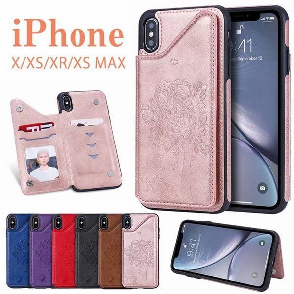 iphoneX XR XS Xs Max 手帳型カバー アイフォンX XR XS Xs Maxメンズ レディース 保護 軽量 カード収納 可愛い柄 シンプル おしゃれ 手帳